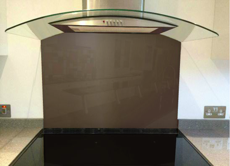 Picture of RAL Terra brown Splashback