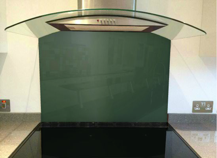 Picture of RAL 6005 Splashback (British racing green)