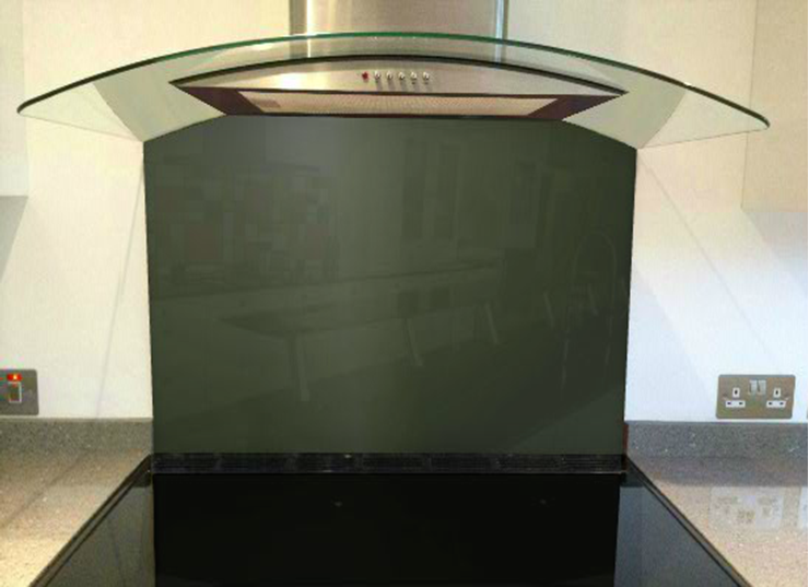Picture of RAL 6009 Splashback
