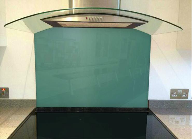 Picture of RAL 6033 Splashback