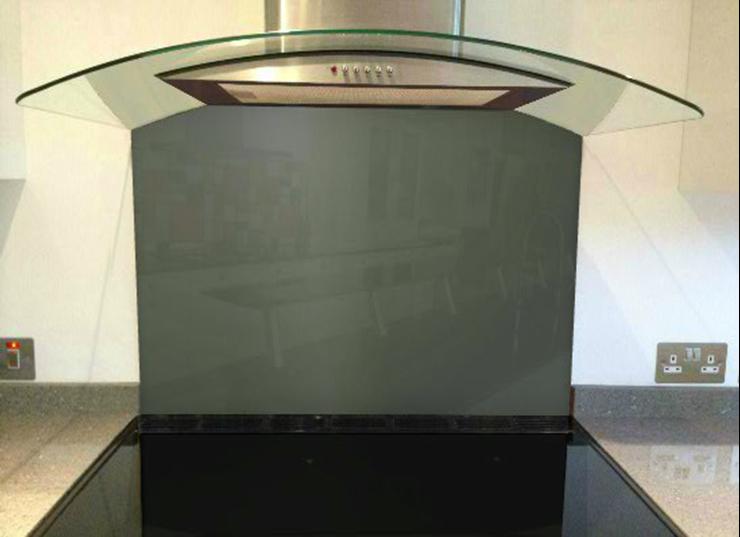 Picture of RAL 7010 Splashback