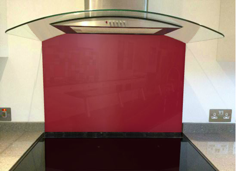 Picture of Farrow & Ball Rectory Red Splashback