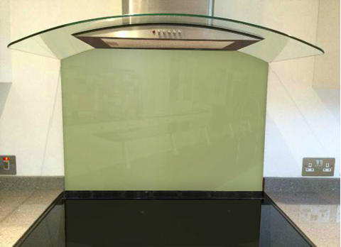 Picture of Farrow & Ball Saxon Green Splashback