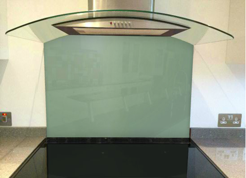 Picture of Farrow & Ball Chappell Green Splashback