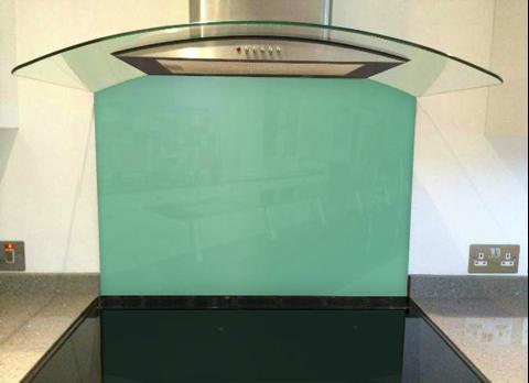 Picture of Little Greene Turquoise Blue Splashback