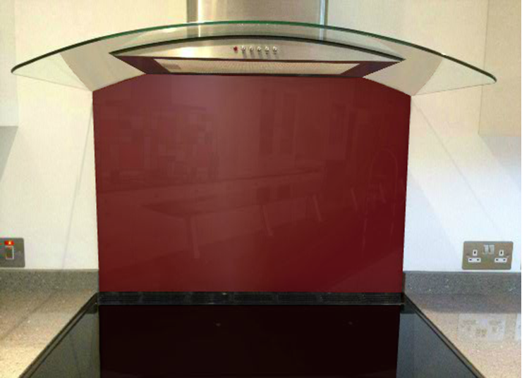 Picture of Little Greene Baked Cherry Splashback