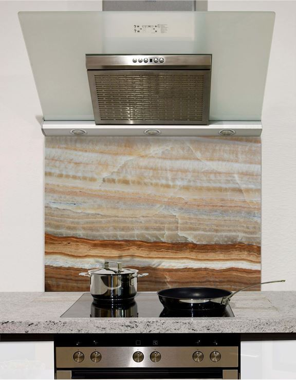 Picture of Rust Agate Stone Splashback