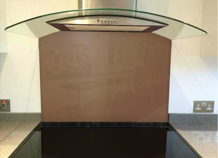 Picture of Crown Chocolate Brown Splashback