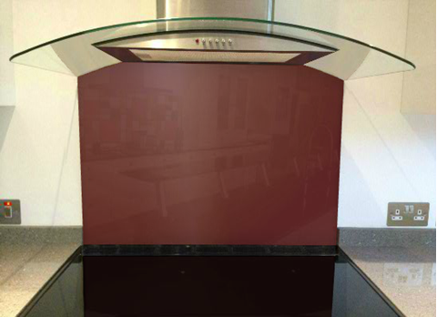 Picture of Crown Burgundy Splashback