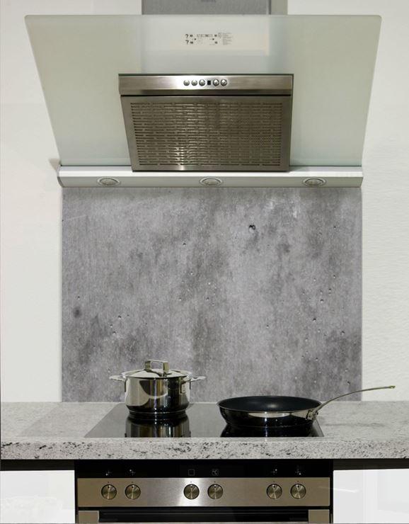 Picture of Polished Concrete Splashback