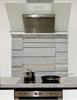 Picture of Block slate wall tiles Splashback