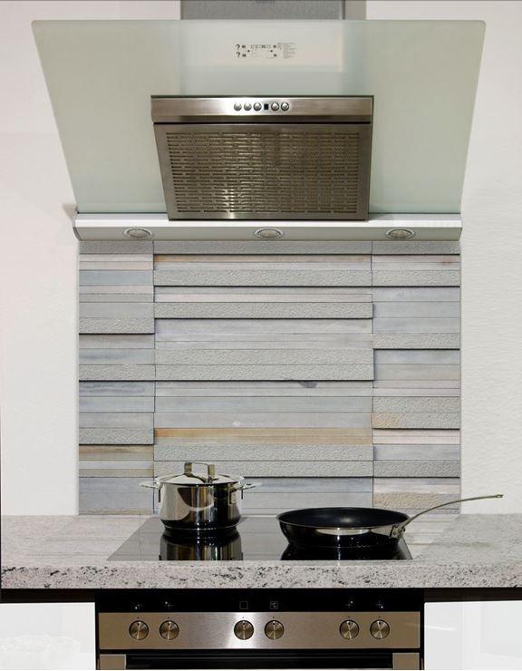Picture of Block slate wall tiles Splashback