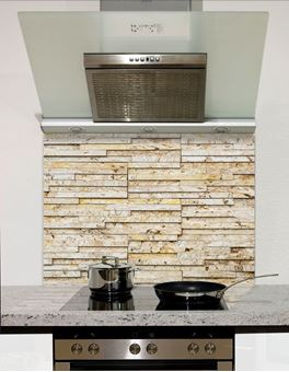 Picture of Sand slate wall tiles Splashback