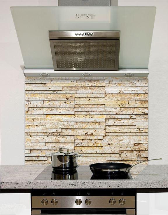 Picture of Sand slate wall tiles Splashback