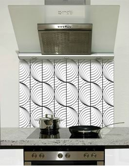 Picture of Circular waves Splashback