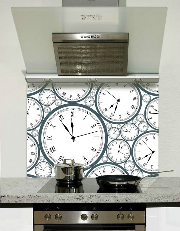 Picture of Clock faces Splashback