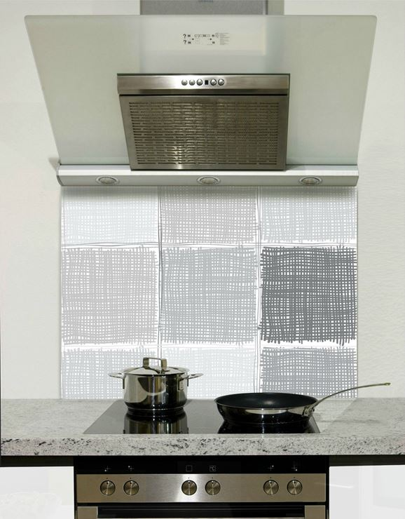 Picture of Grey squares Splashback