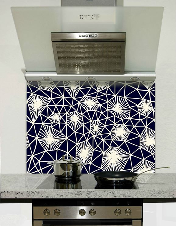 Picture of Navy connection Splashback