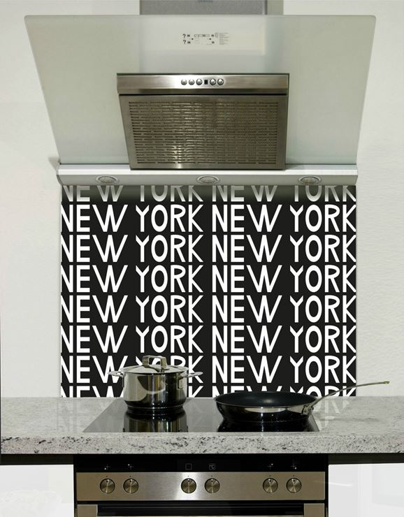 Picture of New york text Splashback
