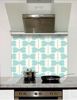 Picture of Bow stalks Pattern Splashback