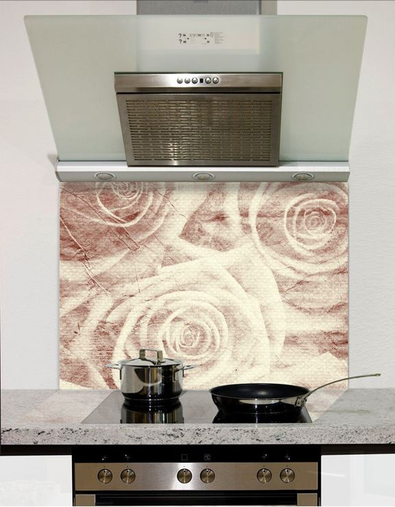 Picture of Ghost roses Splashback