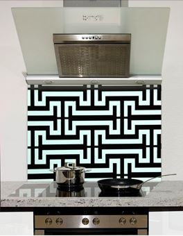 Picture of I grid pattern Splashback
