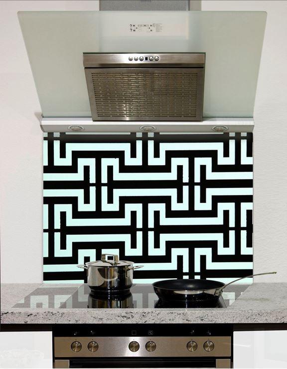 Picture of I grid pattern Splashback