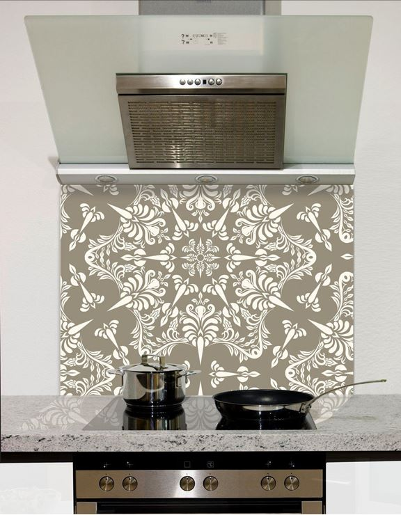 Picture of spiro design pattern Splashback
