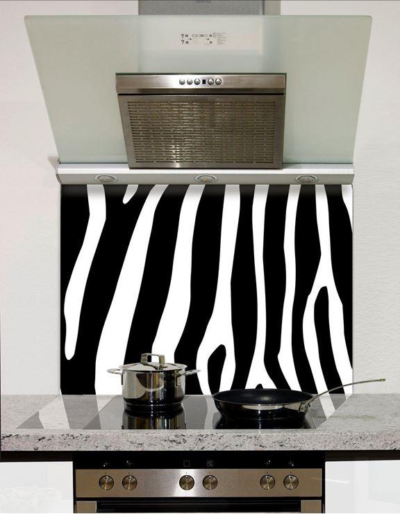Picture of Zebra stripes Splashback