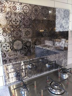 Antique Mirror Splashback