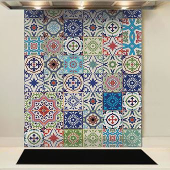 Picture of Moroccan Tiles Splashback (standard size)