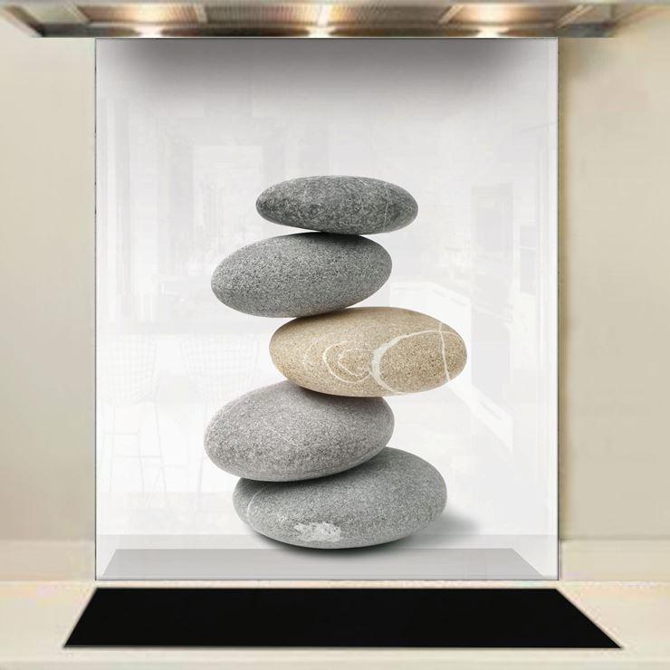 Picture of Pebble Stack Splashback (standard size)