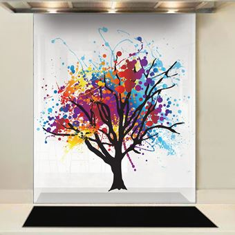 Picture of Rainbow Tree Splashback (standard size)