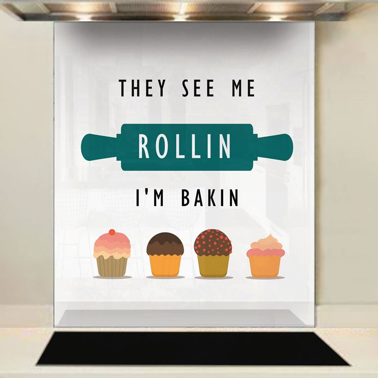 Picture of See me Rollin Splashback