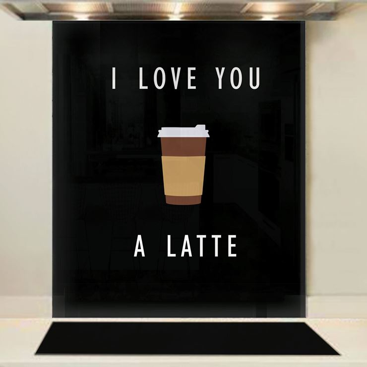 Picture of Love Latte Splashback