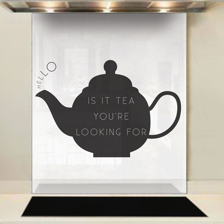 Picture of Looking for Tea Splashback