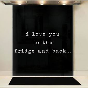 Picture of Fridge and Back Splashback