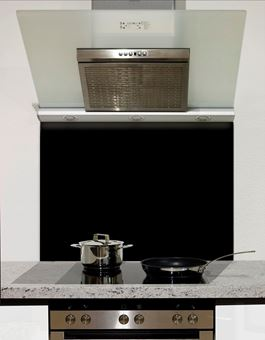 Picture of Black Glass Splashback
