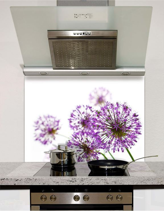Picture of Allium Glass Splashback (standard size)
