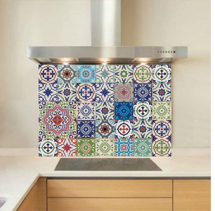 Picture of Moroccan Tiles Splashback (standard size)