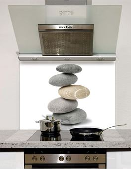 Picture of Pebble Stack Splashback (standard size)