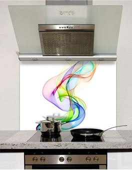 Picture of Rainbow Sheer Splashback (standard size)