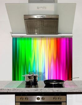 Picture of Spectrum Rays Splashback (standard size)