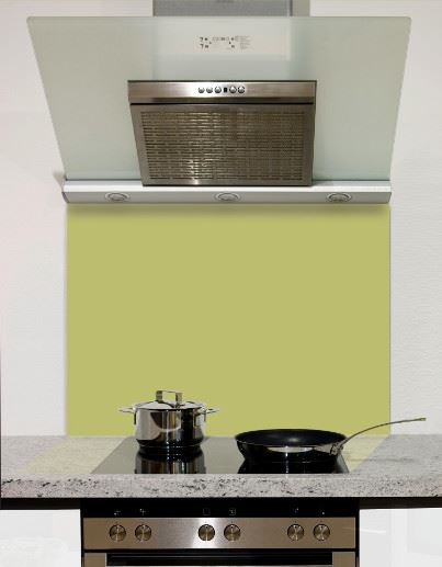 Picture of Coloured Glass Kitchen Splashbacks