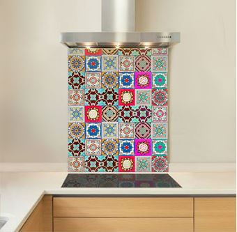 Picture of Cantina Tiles Glass Splashback
