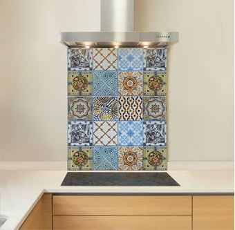 Picture of Mediterranean Tile Splashback