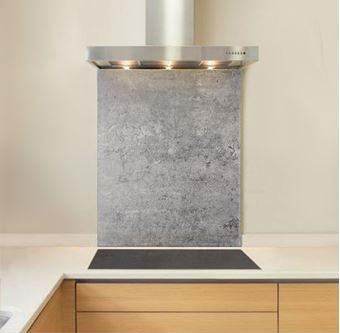 Picture of Coarse Concrete Splashback