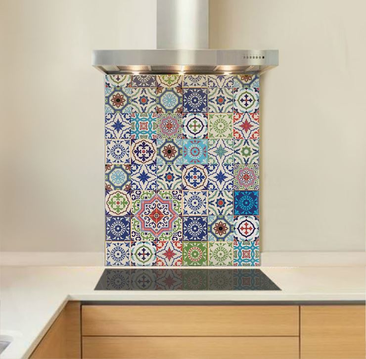 Picture of Moroccan Tiles Splashback