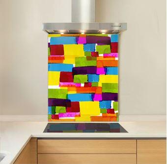 Picture of Colour Blocks Splashback