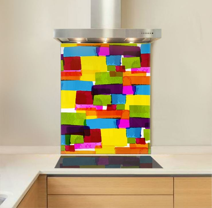 Picture of Colour Blocks Splashback